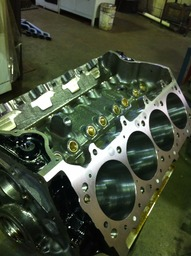 Ford Motorsport Big Block with bronze lifter bore sleeves