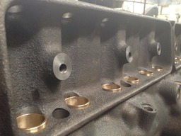 Holden Red 6 bronze lifter bore sleeves
