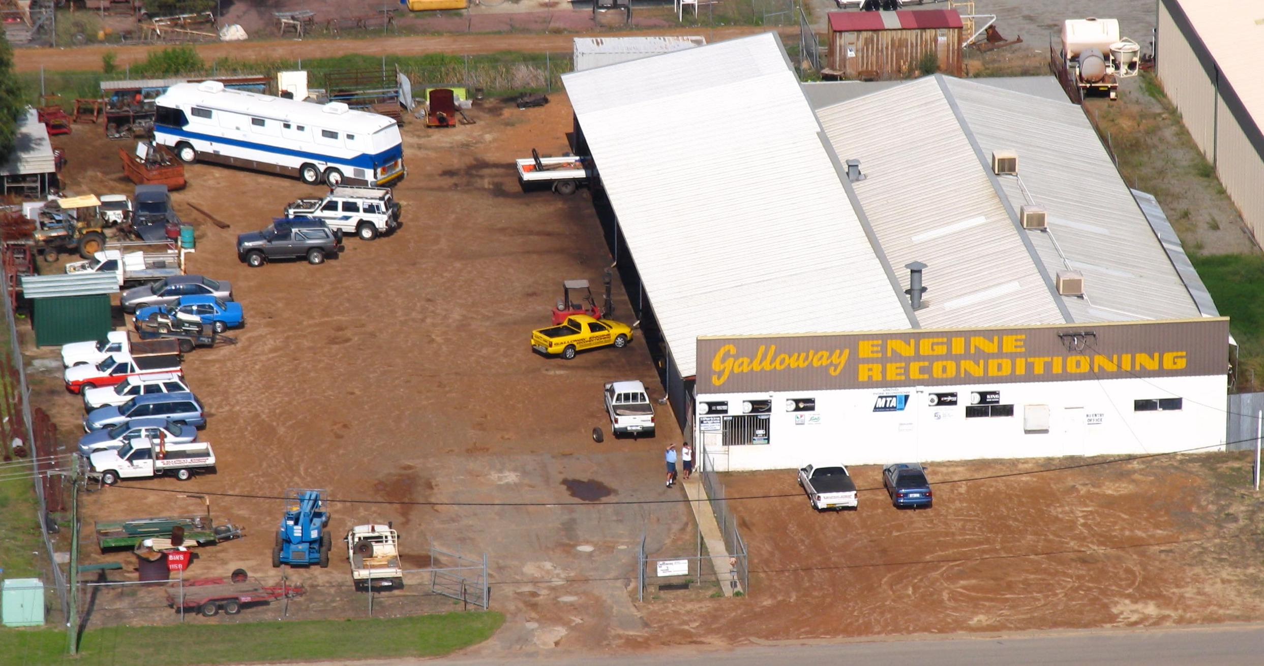 galloway engines aerial picture